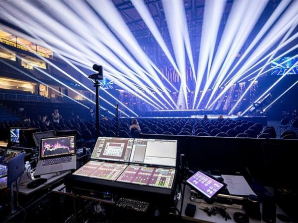 Sinusoid Deploys DiGiGrid for Estonia's Eurovision Show