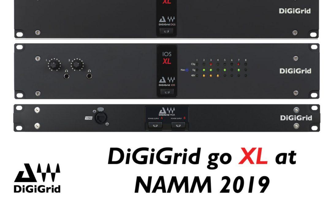 DiGiGrid Goes XL at NAMM 2019