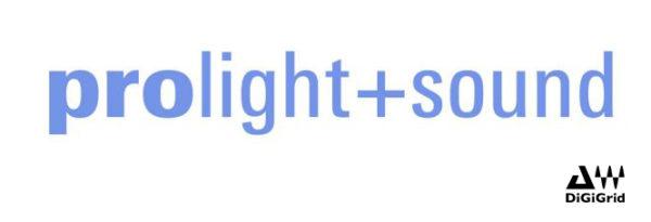 DiGiGrid AT PROLIGHT + SOUND 2019, STAND F40 HALL 8.0